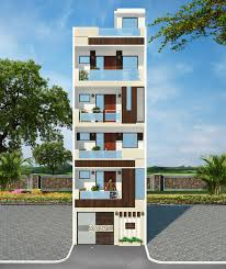 residential building elevation front elevation for 4 floor building thefloors co