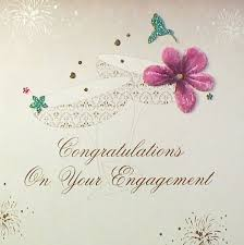 congratulations on engagement card mojolondon congratulations on your engagement card by five dollar