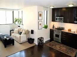 Interior Design For Small Living Room With Open Kitchen Small Apartment Open Concept Gallery Also Interior Design Home