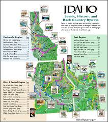 map of idaho cities maps publications highway map idaho and city