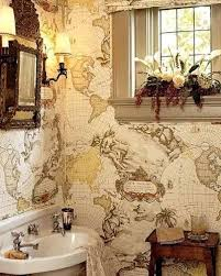 bathroom wallpaper border ideas 83 best bathroom wallpaper images on bathroom ideas