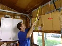 Installing Overhead Garage Door How To Replace A Garage Door How Tos Diy