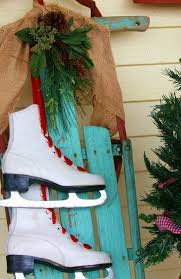 decorating skates sleds driven by decor