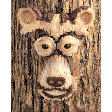 3 animal tree faces 112930 decorative accessories at