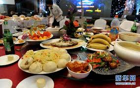 Dining Table With Food Time To Stop Appalling Food Waste On Dining Table China