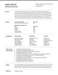curriculum vitae for graduate template simple student resume format sle of for students template