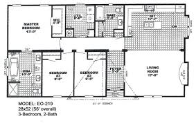 double wide floor plans 4 bedroom