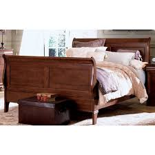 King Sleigh Bed Kincaid Solid Wood Chateau Royale King Sleigh Bed Beds Bedroom