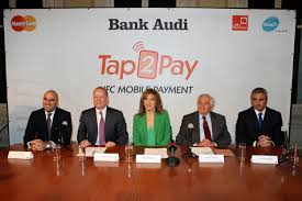 bank audi bank audi launches tap2pay the nfc mobile payment service