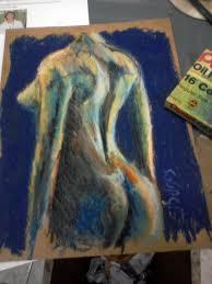 102 best oil pastel images on pinterest painting figure