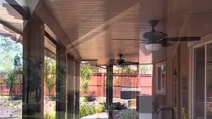 Aluminum Patio Covers Sacramento by The Californian Solid Patio Cover By Duralum Youtube
