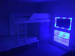 Blue Bedroom Lights Neon Blue Bedroom Nurani Org