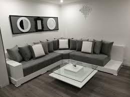 photo canapé marocain inspiration salon marocain moderne décoration de la maison