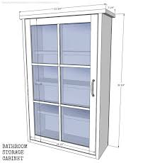 Bathroom Cabinet Dimensions by Remodelaholic Bathroom Storage Cabinet Using An Old Window