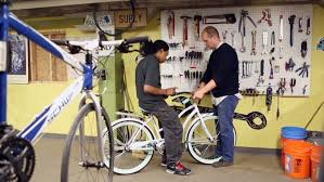 bike workshop ideas used bikes change kids lives cnn
