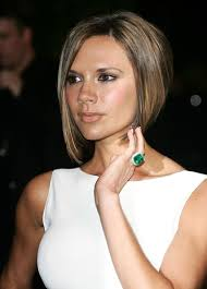 short hair one side and long other victoria beckham in 2007 vanity fair oscar party long