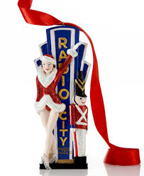 kurt adler radio city with rockette ornament for
