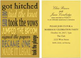 post wedding invitations post wedding invitations 21 beautiful at home wedding reception