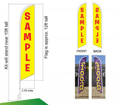Custom 3x5 Flags Feather Flag Sale Over 700 Swooper Banner Flags To Choose From