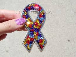 bling ribbon bling ribbon car emblem