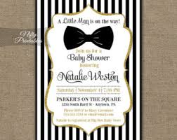 bow tie baby shower invitations bow tie baby shower etsy