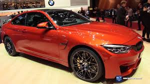 2018 bmw m4 coupe exterior and interior walkaround debut 2017