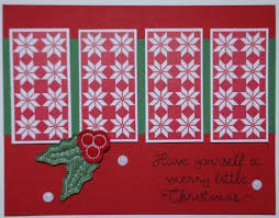 have yourself a merry little christmas by stampinrachel cards