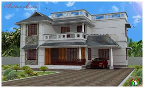 Traditional Style House by Four Bed Room House Plan Architecture Kerala