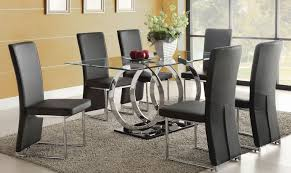 cheap dining room table sets glass dining table with 6 chairs dining room ideas regarding