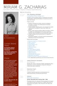 ceo resume template ceo resume sles visualcv resume sles database