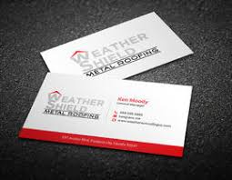 design some business cards for roofing company dcm05172017