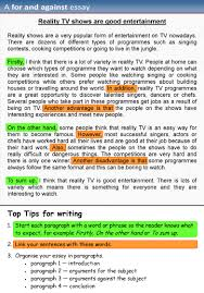 free essay sample a for and against essay learnenglish teens british council