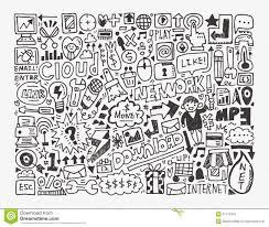 doodle vectors free doodle network element stock vector image of bulb 31472016
