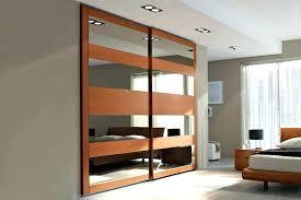 Closet Door With Mirror Sliding Mirror Closet Door Home Depot Closet Doors Mirror Interior