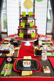 ninjago party supplies a lego ninjago inspired birthday party anders ruff custom designs llc