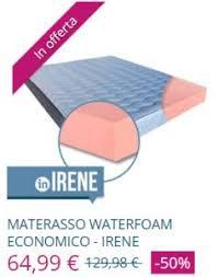 materasso in waterfoam materasso waterfoam opinioni e caratteristiche