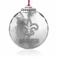 new orleans saints ornament wendell august