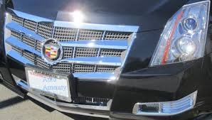 2011 cadillac cts grille gi 76 cadillac cts chrome grill inserts custom look great prices