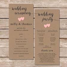 Funny Wedding Programs 9 Best Wedding Programs Images On Pinterest Funny Wedding