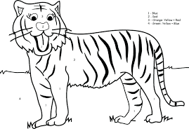 coloring page tigers tiger printable coloring pages daniel tigers neighborhood