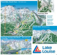 Utah Ski Resort Map by Lake Louise Ski Resort Trail Map Liftopia