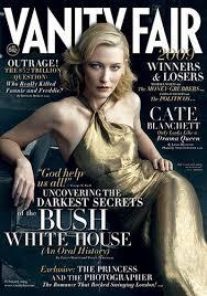 Magazine Vanity Fair Cate Blanchett Vanity Fair February 2009 Vs Vogue December 2004