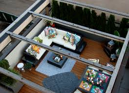 Outdoor Deck Rugs by Urban Roof Deck Top Landscape Garden Design Dining Table Outdoor