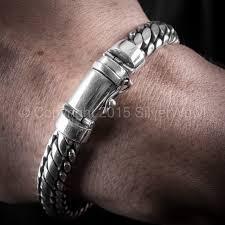 sterling silver woven bracelet images Snake weave bracelet jpg