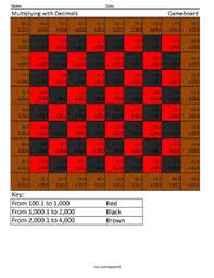 decimal computations coloring squared