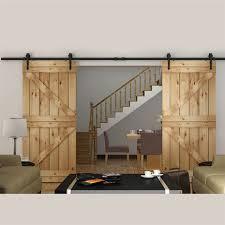 Interior Barn Doors For Homes by Barn Door Sliders Uk 10 To 16 Ft European Style Steel Top Mounted