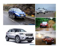 renault cars duster suzuki s cross vs renault duster vs hyundai creta vs nissan