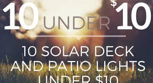 Patio Solar Lights 10 Solar Deck And Patio Lights 10 Pegasus Lighting