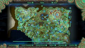 Map Of Hyrule The Legend Of Zelda Breath Of The Wild Seite 252 Spiele