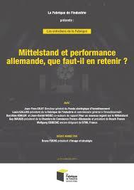 chambre de commerce et d industrie franco allemande les entretiens de la fabrique mittelstand et performance allemande